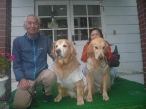 我が家の愛犬ダイとロジャーくん